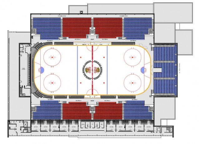 Seating Chart of Memorial Gardens