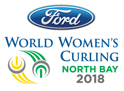 Ford World Women's Curling 2018 logo